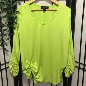 (Karen Kane) Lime Green Top